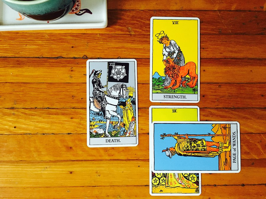 Tarot through the Seasons: Death image