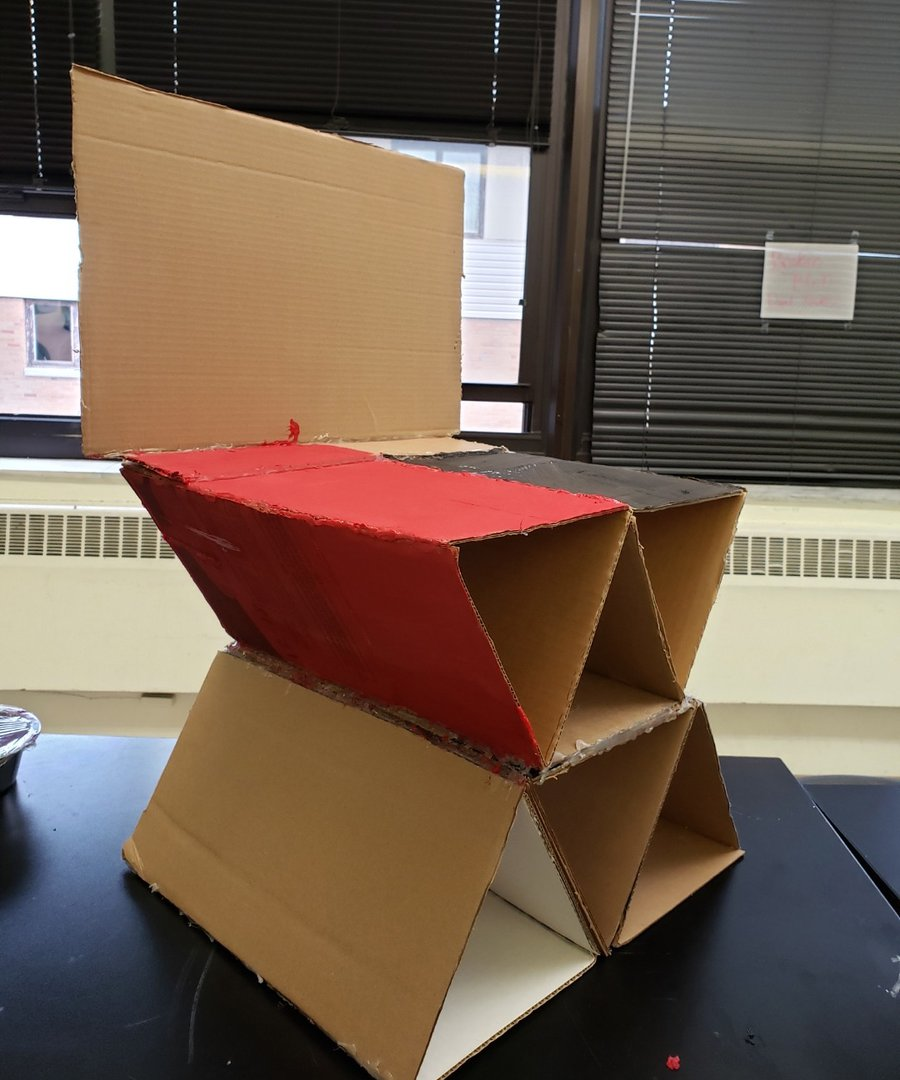 S.T.E.A.M. - Building a Functional Chair Out of Cardboard (Youth Ages 12-18) image