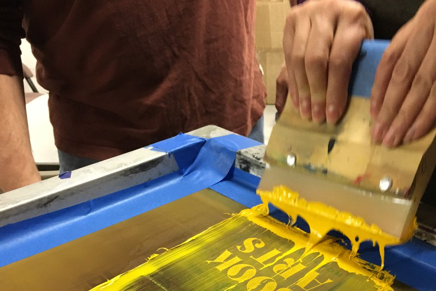 Screen Printing image