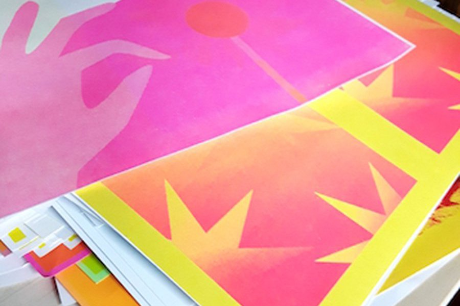 Intro to Risograph Printing (Digital Screen Printing) image