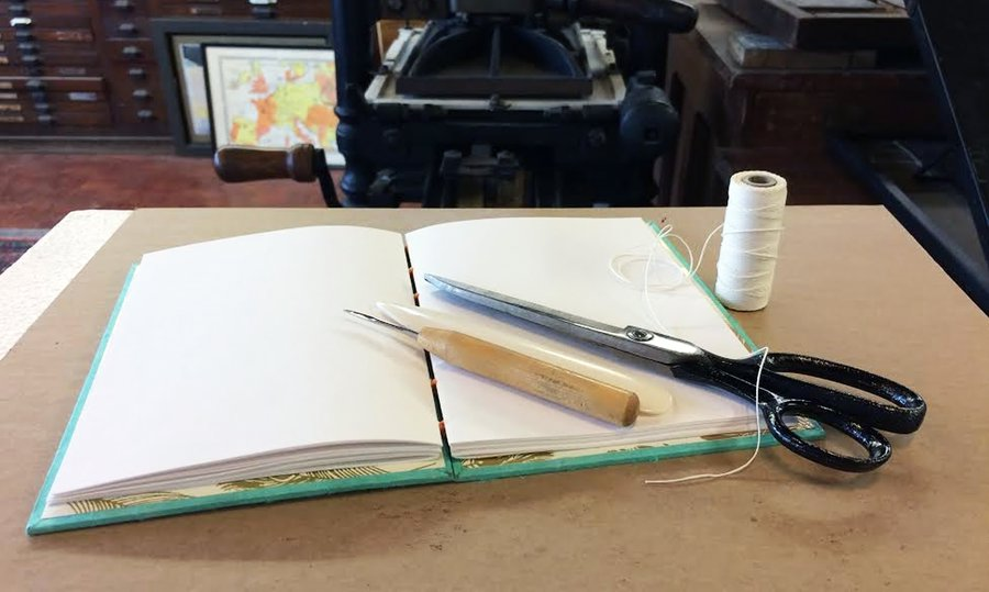 Intro to Bookbinding image