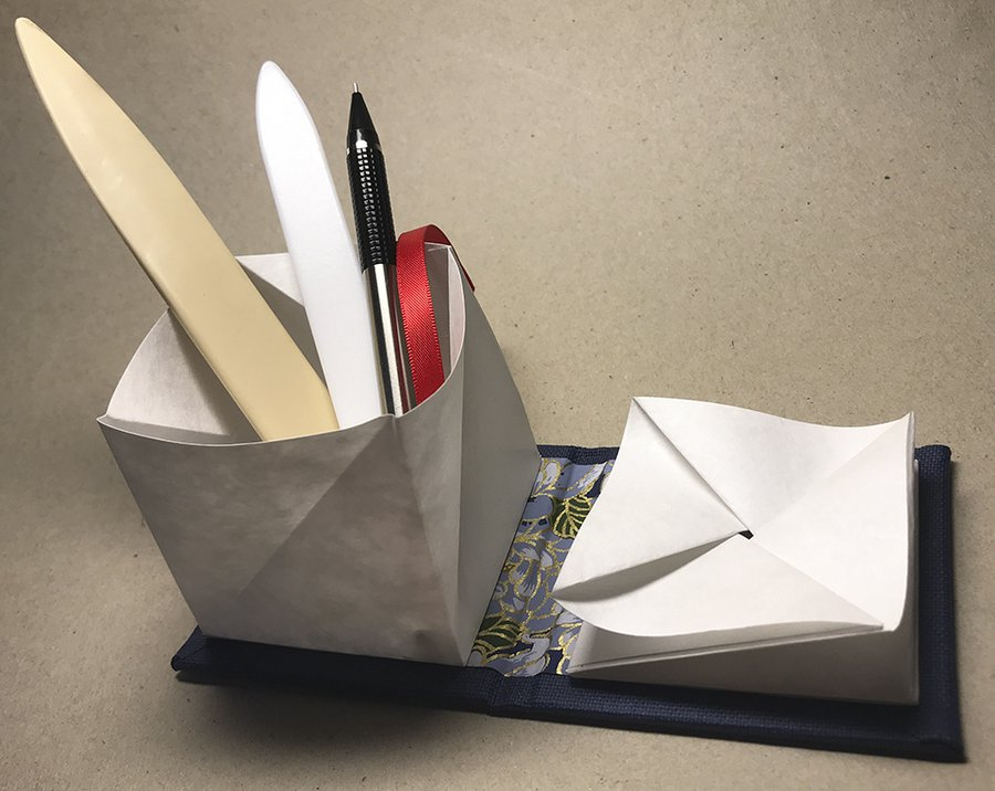 Learn to Make a Folding Box Book image