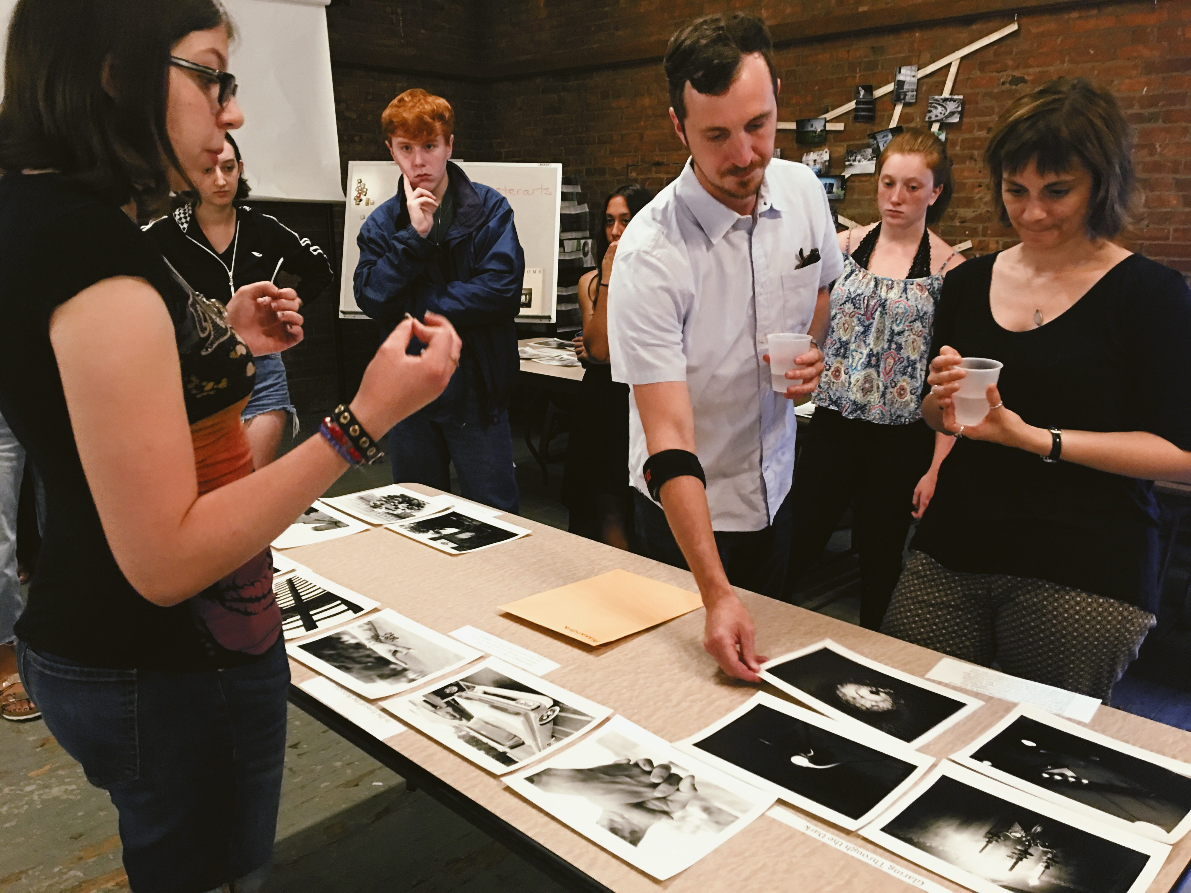 George Eastman Museum professionals review work by summer camp students
